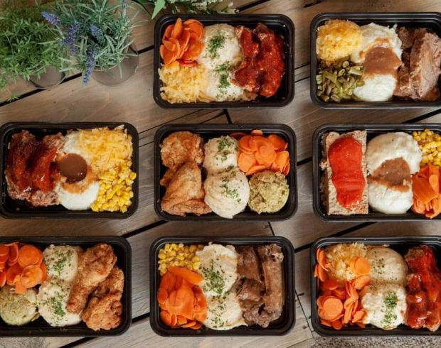 Ready to go meals from Pebbles Family Buffet